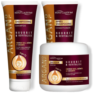 ARGAN OIL - Shampoo, Conditioner & Mask