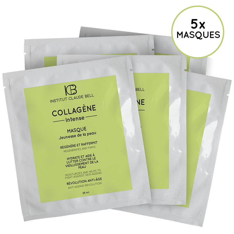 COLLAGENE INTENSE MASK x5