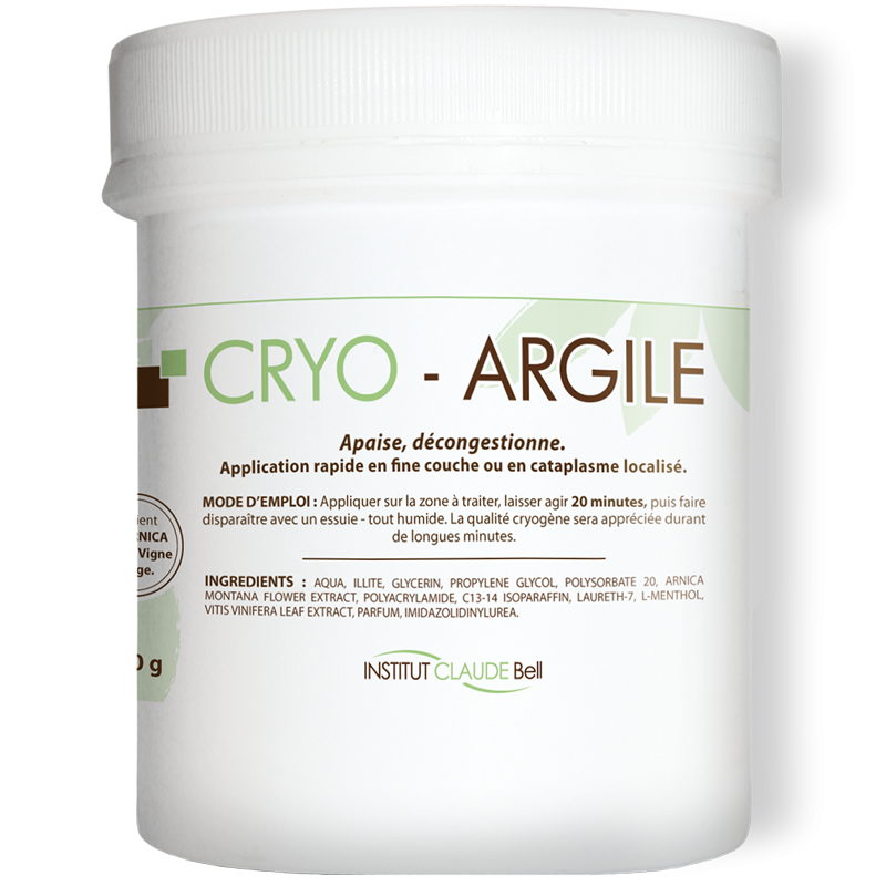 CRYO-ARGILE - Cold-Active Ointment