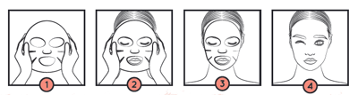Use of acid hyaluronic mask